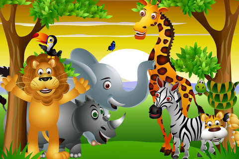 Animals of the Savana - Amazing Hidden Objects for Kids