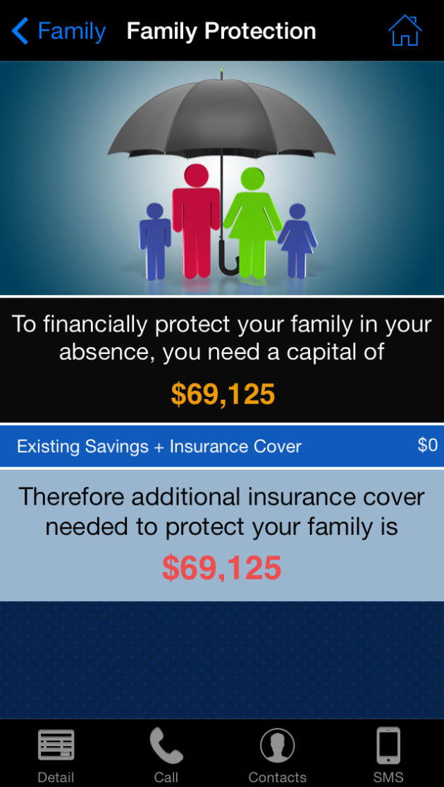 apps details Insurance Need Analysis Pro