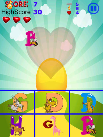 download games Animal Zoo Alphabet Matching Game for iphone