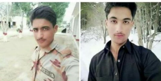 The young Pashtun boy who committed suicide in Korai Dera Ismail Khan in Balochistan.