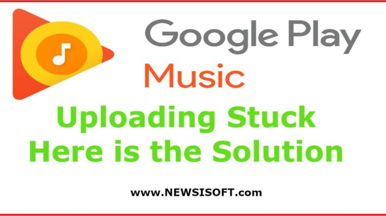 Google Play Music Upload Stuck