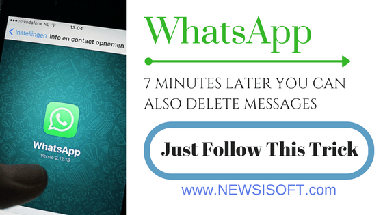 Whatsapp: 7 Minutes Later You Can Also Delete Messages – Just Follow These Trick