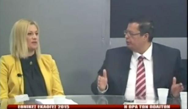 Η Ραχήλ Μακρή τίναξε την μπάνκα στον αέρα! Αν κοπεί η χρηματοδότηση στην χώρα ο ΣΥΡΙΖΑ θα κόψει μόνος του 100 δισ ευρώ