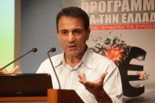 Λαπαβίτσας: Πρέπει να βγούμε από το ευρώ για να βάλουμε τέλος στη λιτότητα