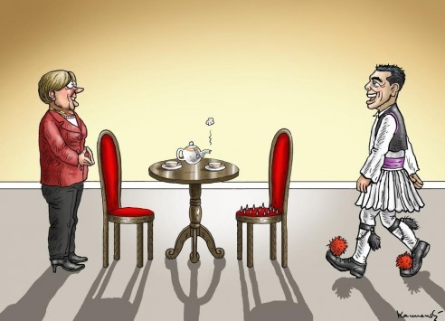 Έτσι περιμένει η Μέρκελ τον Τσίπρα στο Βερολίνο (ΦΩΤΟ)
