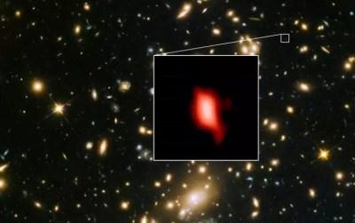 Ανακαλύφθηκε γαλαξίας με το πιο μακρινό οξυγόνο στο σύμπαν! [pic]   Newsit.gr