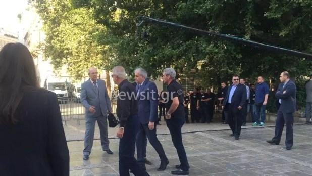Παύλος Γιαννακόπουλος κηδεία Ομπράντοβιτς