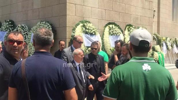 Παύλος Γιαννακόπουλος κηδεία