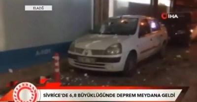 Πανίσχυρος σεισμός στην Τουρκία! Φόβοι για πολλές ζημιές και θύματα