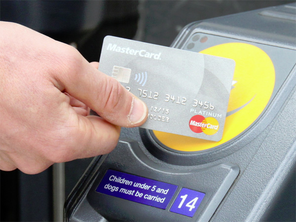 Card Mastercard contactless