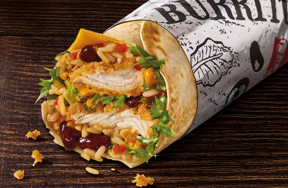 KFC-Burrito