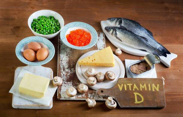 bigstock Food Sources Of Vitamin D On A 115739462