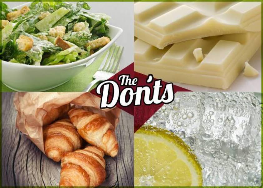 Αποτέλεσμα εικόνας για 3 τρόφιμα που δεν θα έτρωγα εικόνες