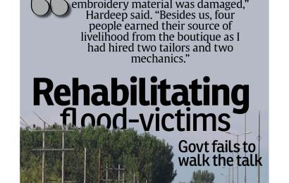 Rehabilitating flood-victims-Govt fails to walk the talk