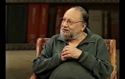 Informed suspicion is the path towards intellectual salvation: Professor Ashis Nandy