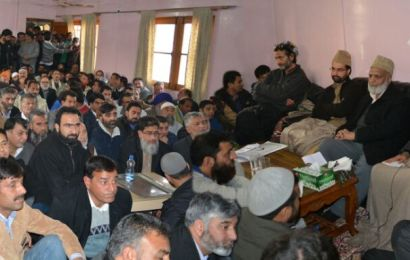 *Meeting of all stakeholders held at Hyderpora….full mandate given to united resistance leadership regarding the continuance of resistance movement*