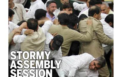Stormy Assembly Session