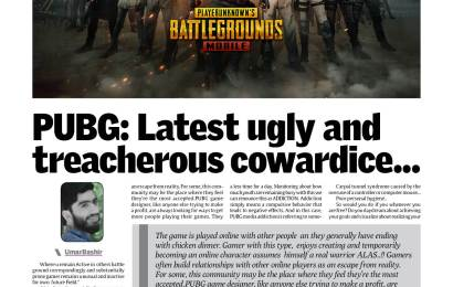 PUBG: Latest ugly and treacherous cowardice