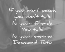 Peace…The only way forward!!!