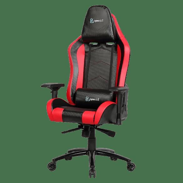 Takamikura Carbon silla gaming rojanegra