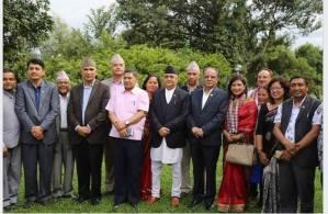 सहकारीकर्मी तथा पुर्ब सभासद अाेमदेवी मल्ल काँग्रेसबाट नेकपा प्रबेश