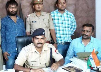 अगवा कर 1 करोड़ की फिरौती मांगने वाला इनामी चढ़ा पुलिस के हत्थे