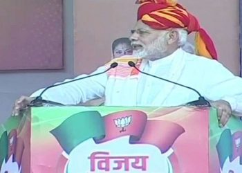 अजमेर में बरसे PM मोदी, कहा- 60 सालों तक कांग्रेस ने वोट बैंक की राजनीति की