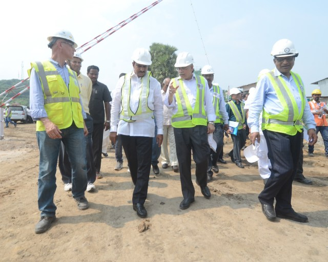 Polavaram expert committee inspect progress of works