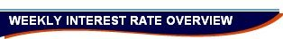 WEEKLY INTEREST RATE OVERVIEW