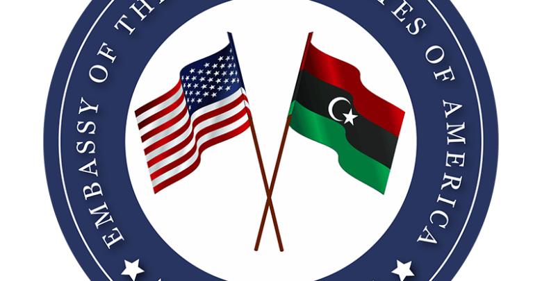 السفارة الامريكية بليبيا