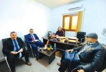مدير مكتب التعاون الدولي يستقبل المستشار الثقافي بوزارة الشؤون الثقافية التونسية