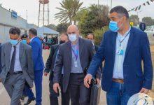زيارة وفد من الطيران المدني المالطي لمطار معيتيقة الدولي