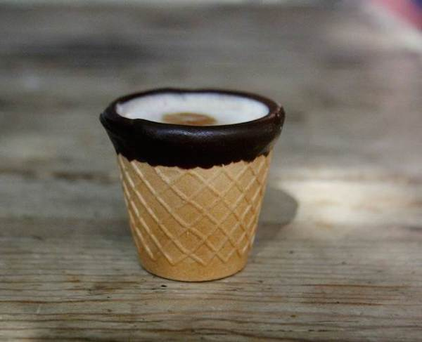 Coffee In An Edible Waffle Cup Is The Breakfast Of Your Dreams