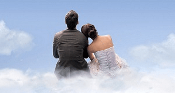 Image result for picture of couple in heaven