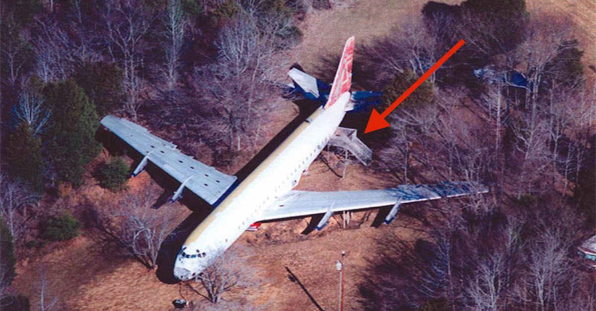 At First Glimpse You Will Think It Is A Plane Crash But