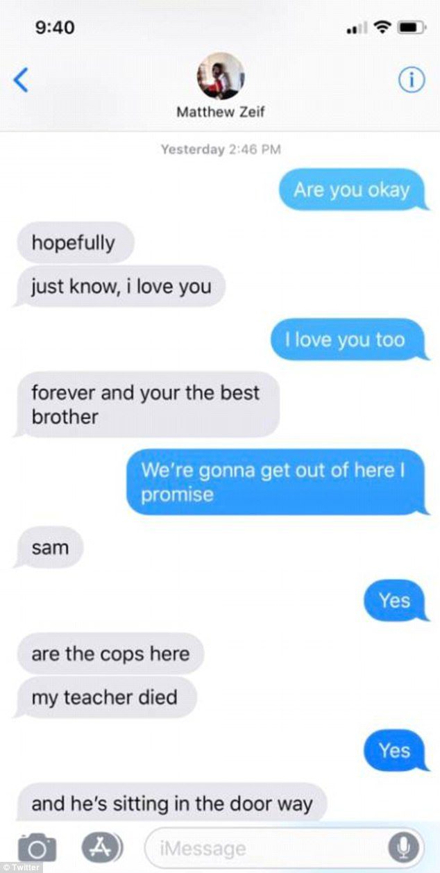 Heartbreaking Texts Between Brothers Who Survived Florida