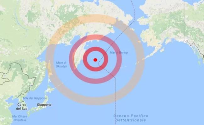 Terremoto In Russia Forte Scossa Di Magnitudo 7 7 Nel Mar