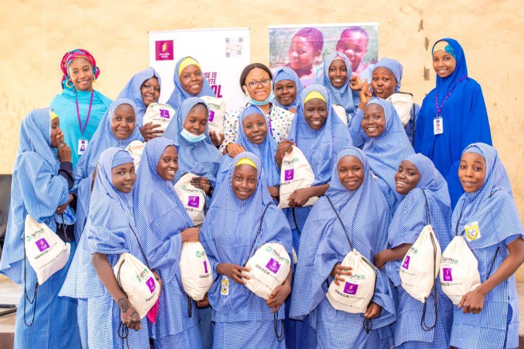 Stakeholders Laud Polaris Bank Feminine Hygiene Initiative ... Empowers 9  Schools Across 3 States | Newsmakers