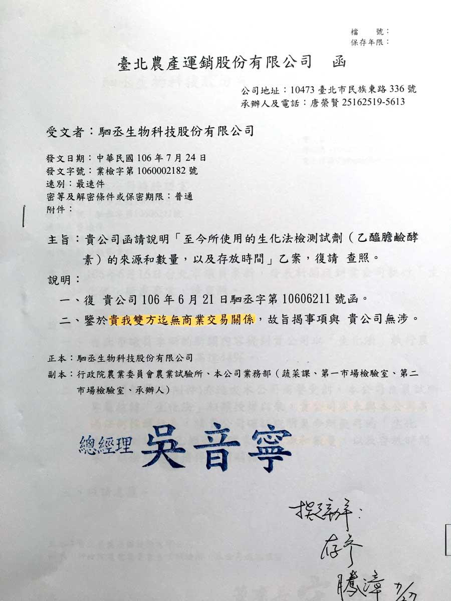 【獨家】農試所千萬技轉涉違約 「生化法」農藥快篩技術 驚傳早外流中國 | 上下游