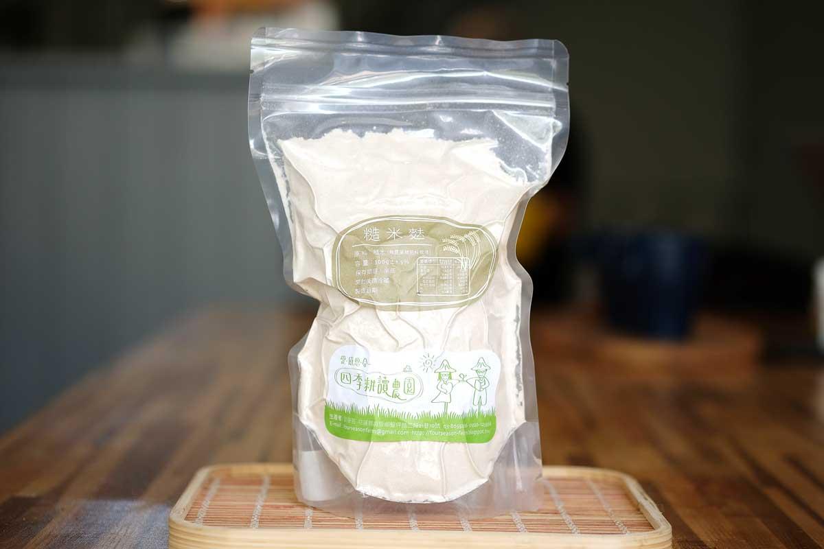 自然米糙米麩(四季耕讀園300克)   上下游市集
