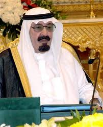 King Abdullah, Saudi, ground zero