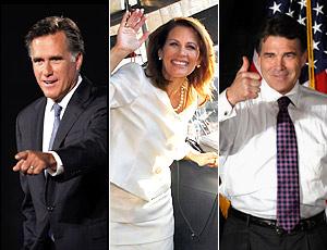 Romney, bachmann, perry