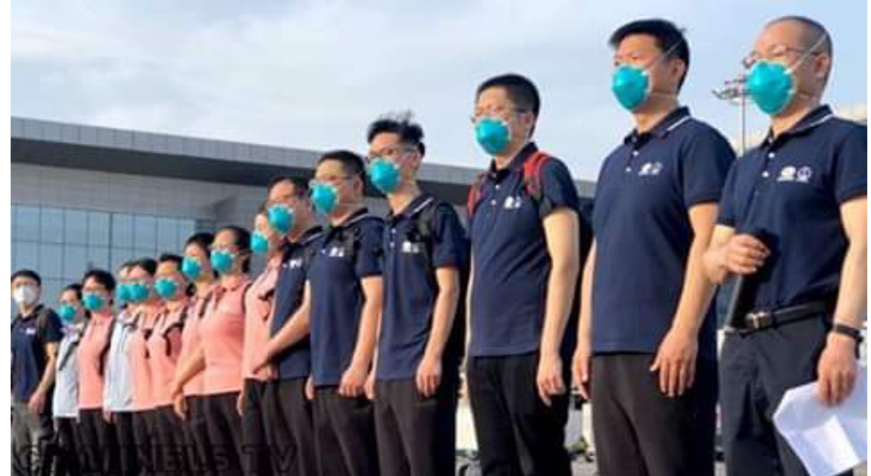 chinese MedTeam and Equipment Arrive In Nigeria