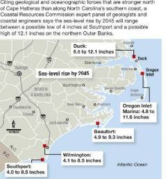 30 year sea level rise will vary along nc coast scientists say news observer [ 1140 x 1366 Pixel ]