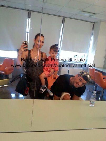 Foto di Marco Fantini con la sua scelta Beatrice Valli a Uomini e donne e poi