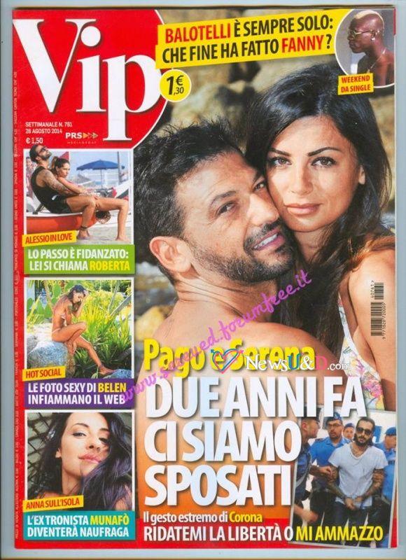 Intervista a Serena Enardu e Pago tratta da Vip