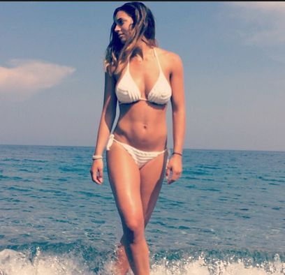 Foto hot di Rossella Fiamingo in bikini