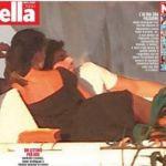 Belen Rodriguez in barca con Andrea Iannone