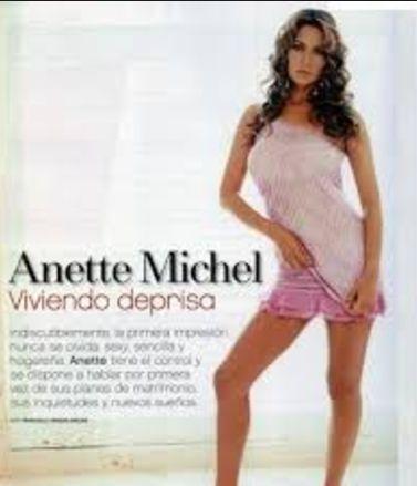 Attrice Anette Michel