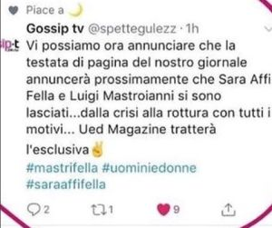 Sara Affi Fella e Lorenzo Riccardi